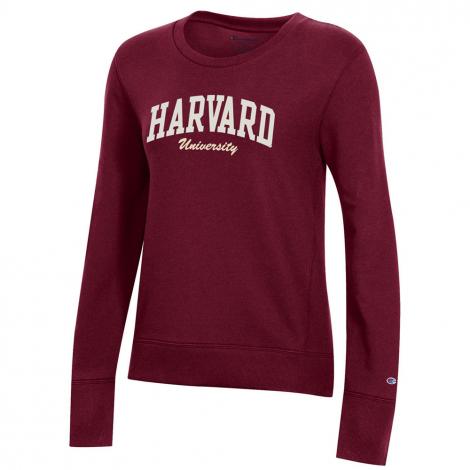 Harvard University Women's Champion Crew Neck Sweatshirt