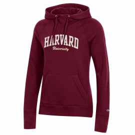 Harvard University Women's Champion Hooded Sweatshirt