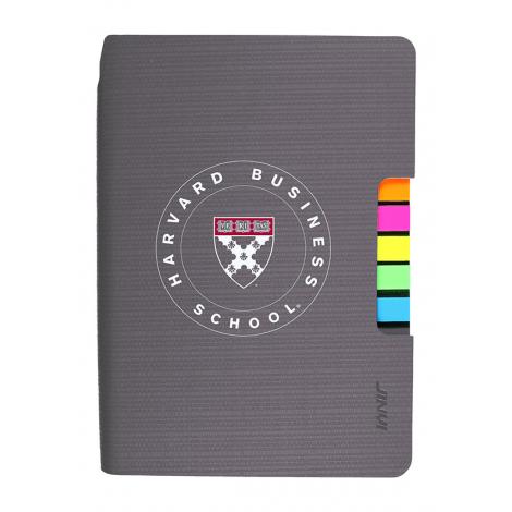 Harvard Business School Journal with Tabs