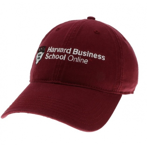 Harvard Business School Online Washed Twill Hat