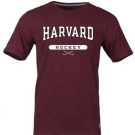 Harvard Maroon Hockey Tee Shirt