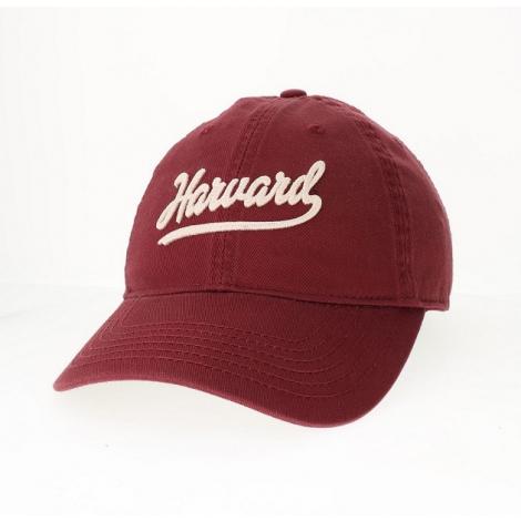 Harvard Script Chainstitched Washed Twill Hat