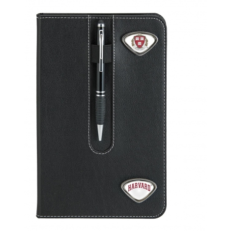 Harvard Business Notebook with Custom Medallions