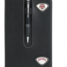 Harvard University Notebook with Custom Medallions