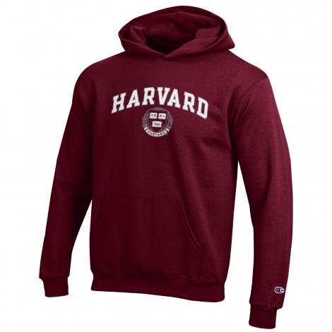 Youth Harvard Seal Hooded Sweatshirt