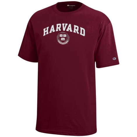 Youth Harvard Seal Tee Shirt