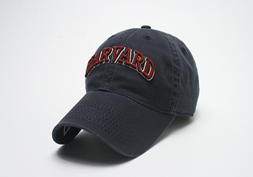 Arched Harvard Washed Twill Hat