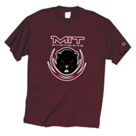 Youth Maroon Beaver T Shirt