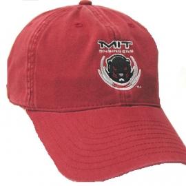 Beaver Burgundy Hat
