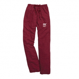 MIT Maroon Swiss Dot Pants