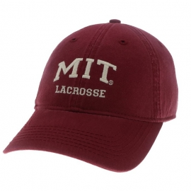 MIT Lacrosse Washed Twill Hat