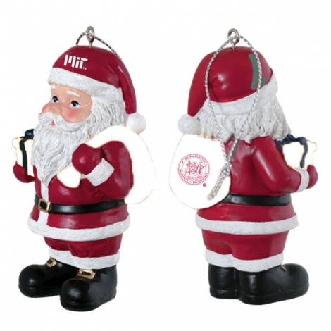 MIT Collegiate Santa Claus Ornament