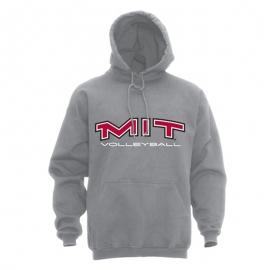 MIT Grey Volleyball Hooded Grey Sweatshirt