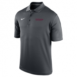 Nike Reckoning Dry Fit Harvard Graphite Varsity Polo
