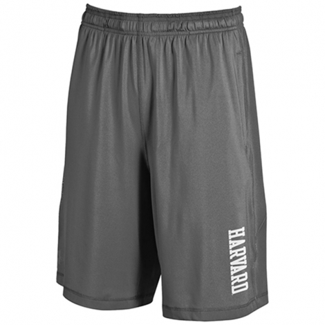 Under Armour Harvard Graphite Raid Shorts