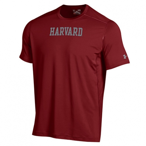 Under Armour Raid Harvard Maroon T Shirt