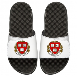 ISlide Harvard White Veritas Sandals