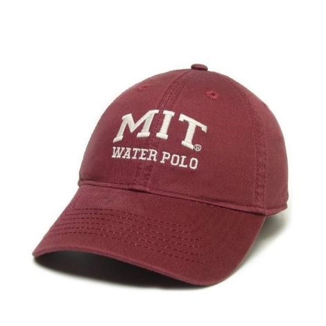MIT Burgundy Sports Hat