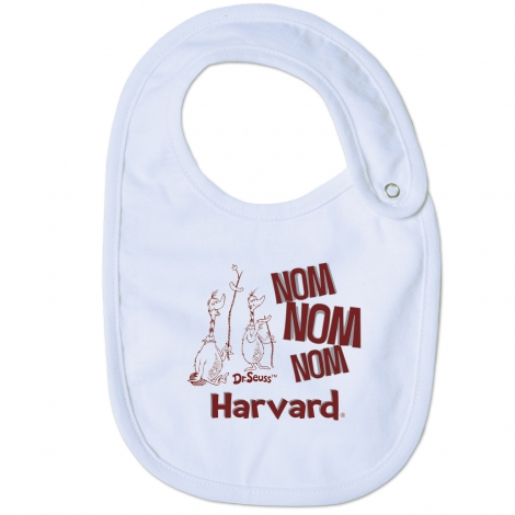 Harvard Dr. Seuss Infant Bib
