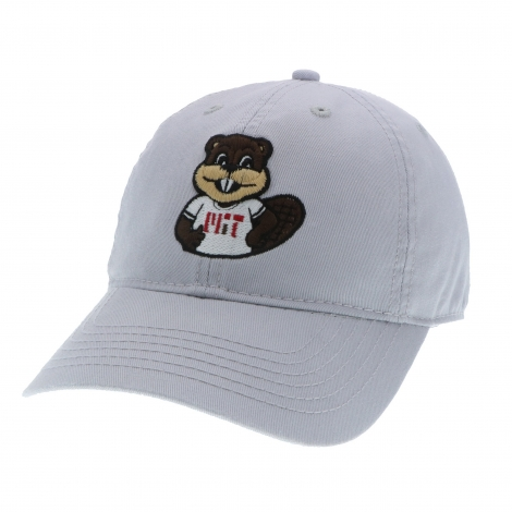 """Youth MIT Washed Twill Hat with """"TIM"""" design"""