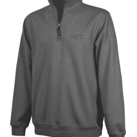 MIT 1/4 Zip Crosswind Graphite Jacket