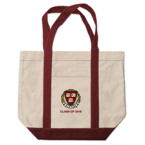 Harvard Class of 2018 Medium Canvas Tote