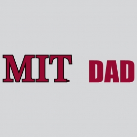 MIT Dad Decal