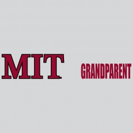 MIT Grandparent Outside Decal