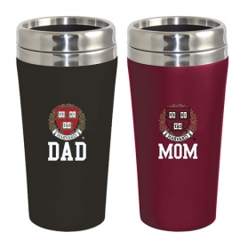 Harvard Soft Touch Tumbler Mom and Dad Gift Set