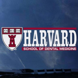 Harvard School of Dental Medicine Decal