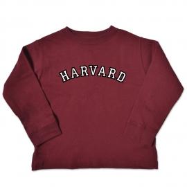 Harvard Toddler Long Sleeve Tee Shirt
