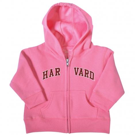 Harvard Infant Full Zip Hooded Sweatshirt