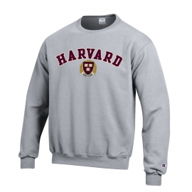 Harvard Applique Seal Crewneck Sweatshirt