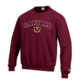 Harvard Champion Applique Crew Neck Sweatshirt