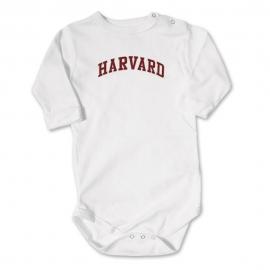Harvard Infant White Bodysuit