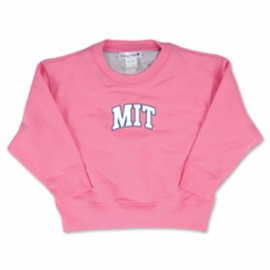 MIT Crew Toddler Pink Sweatshirt