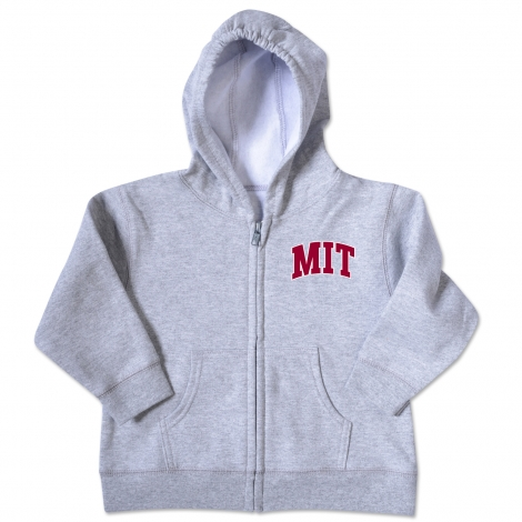 MIT Toddler Full Zip Sweatshirt