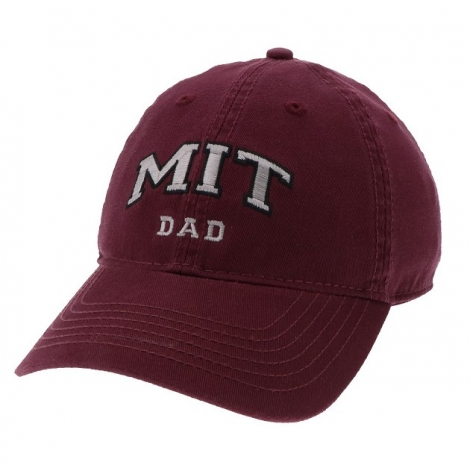 MIT Legacy Embroidered Dad Hat