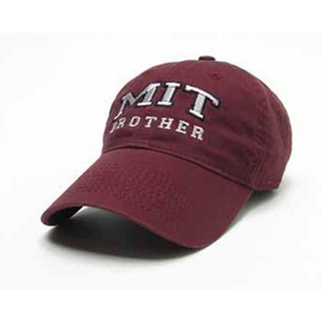 MIT Brother Maroon Hat