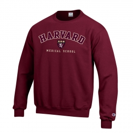 Harvard Medical Applique Seal Crewneck Sweatshirt