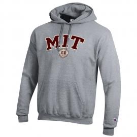 MIT Applique Seal Hooded Sweatshirt