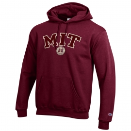 MIT Applique Seal Hooded Sweatshirt
