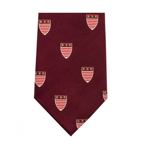 Harvard Kennedy School of Government Maroon Tie