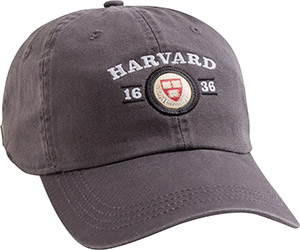 Harvard Veritas Granite Hat