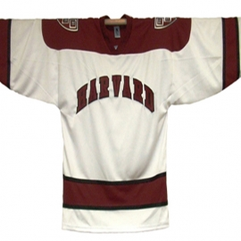 Harvard Youth Official White Hockey Replica Jersey