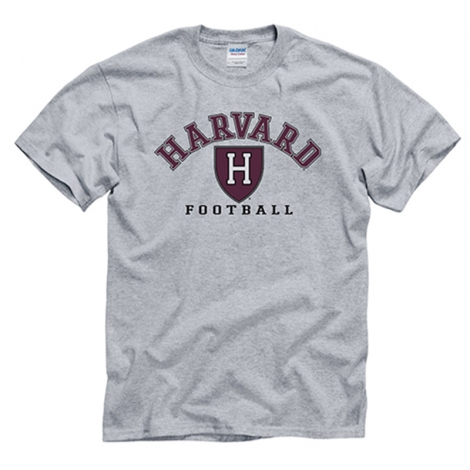 Harvard Football Grey T Shirt