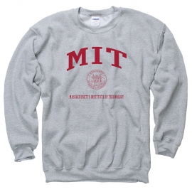 MIT Grey Crew Sweatshirt