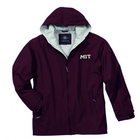 MIT Maroon Enterprise Full zip Jacket