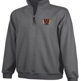 Harvard 1/4 Zip Crosswind Veritas Graphite Sweatshirt