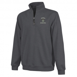 Harvard Business 1/4 Zip Crosswind Granite Sweatshirt